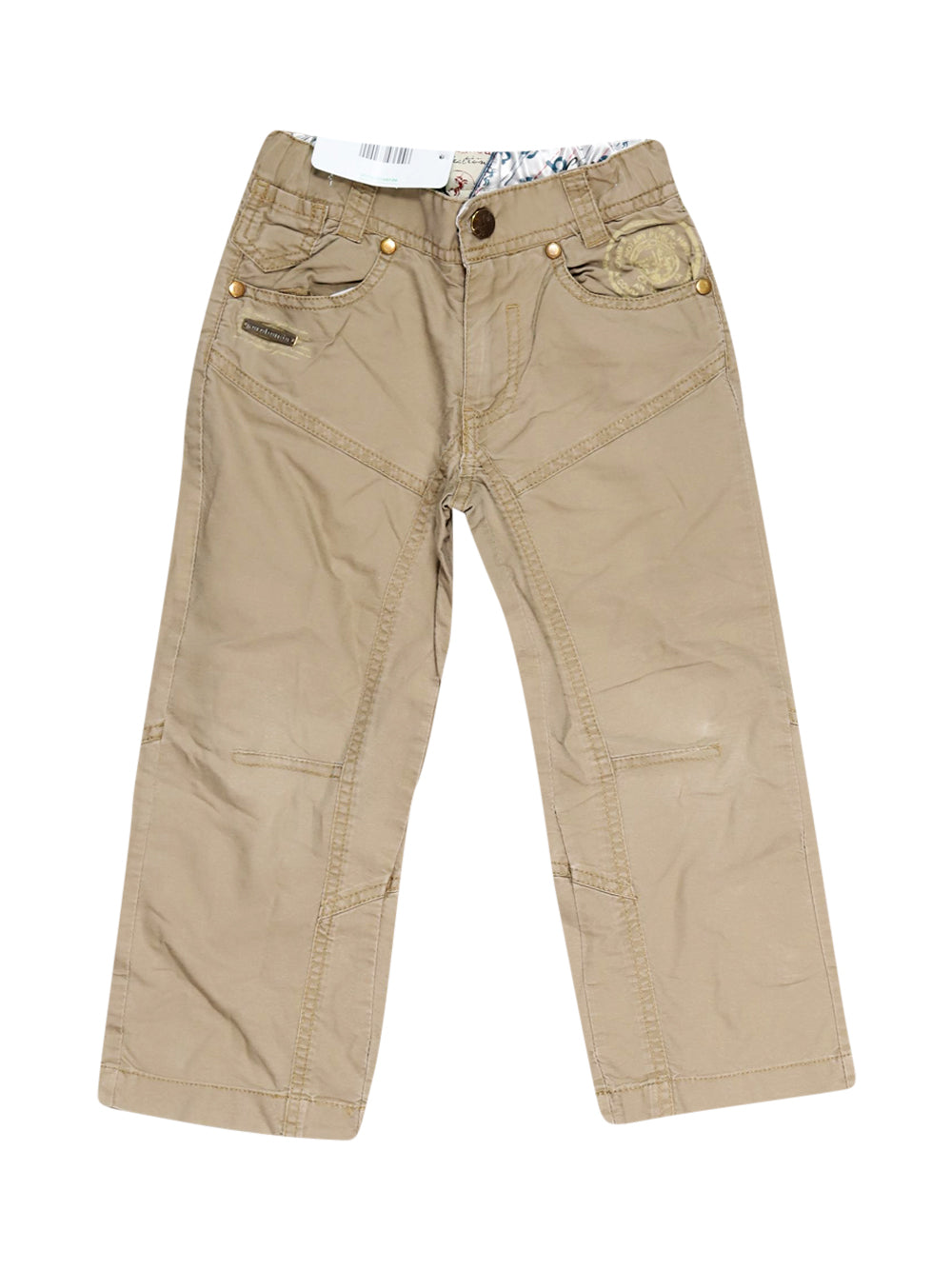 Front photo of Preloved Sarabanda Beige Boy's trousers - size 3-4 yrs