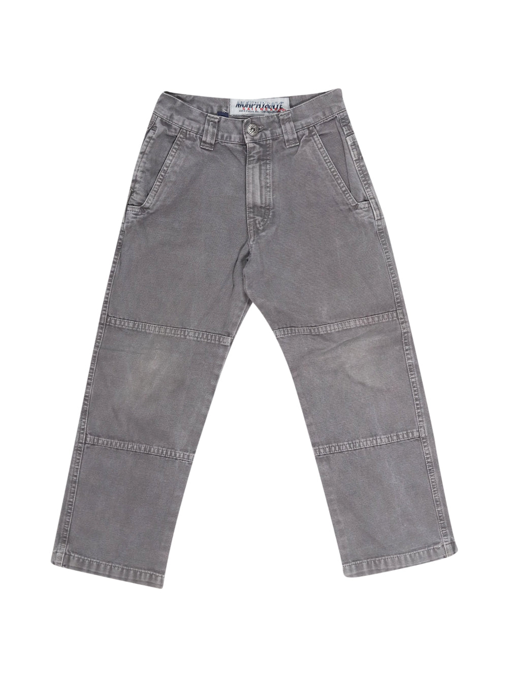 Front photo of Preloved Murphy & Nye Grey Boy's trousers - size 5-6 yrs