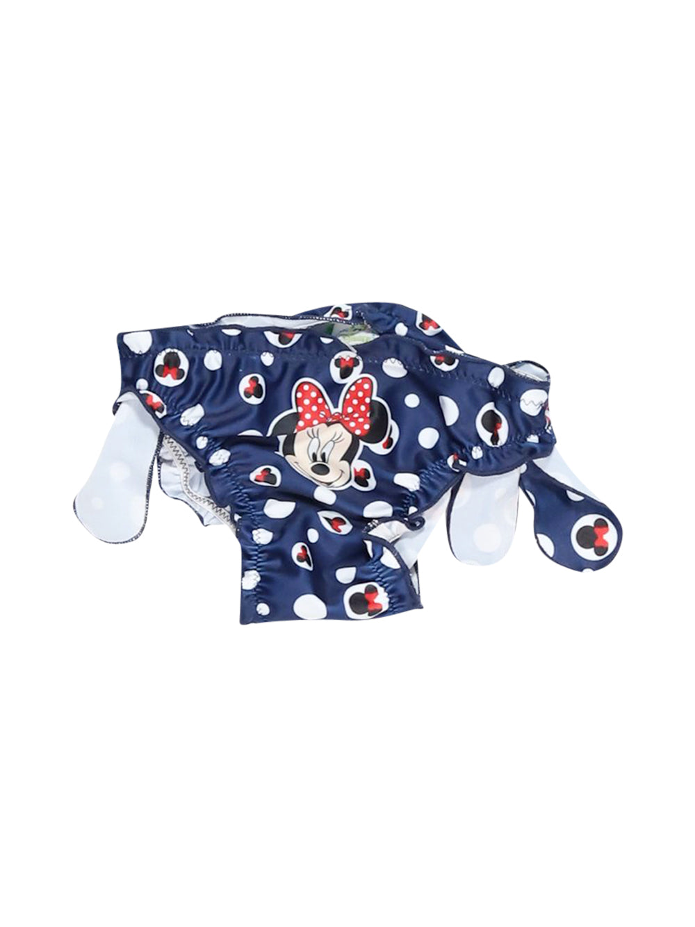 Front photo of Preloved Disney Blue Girl's swimsuit - size 12-18 mths