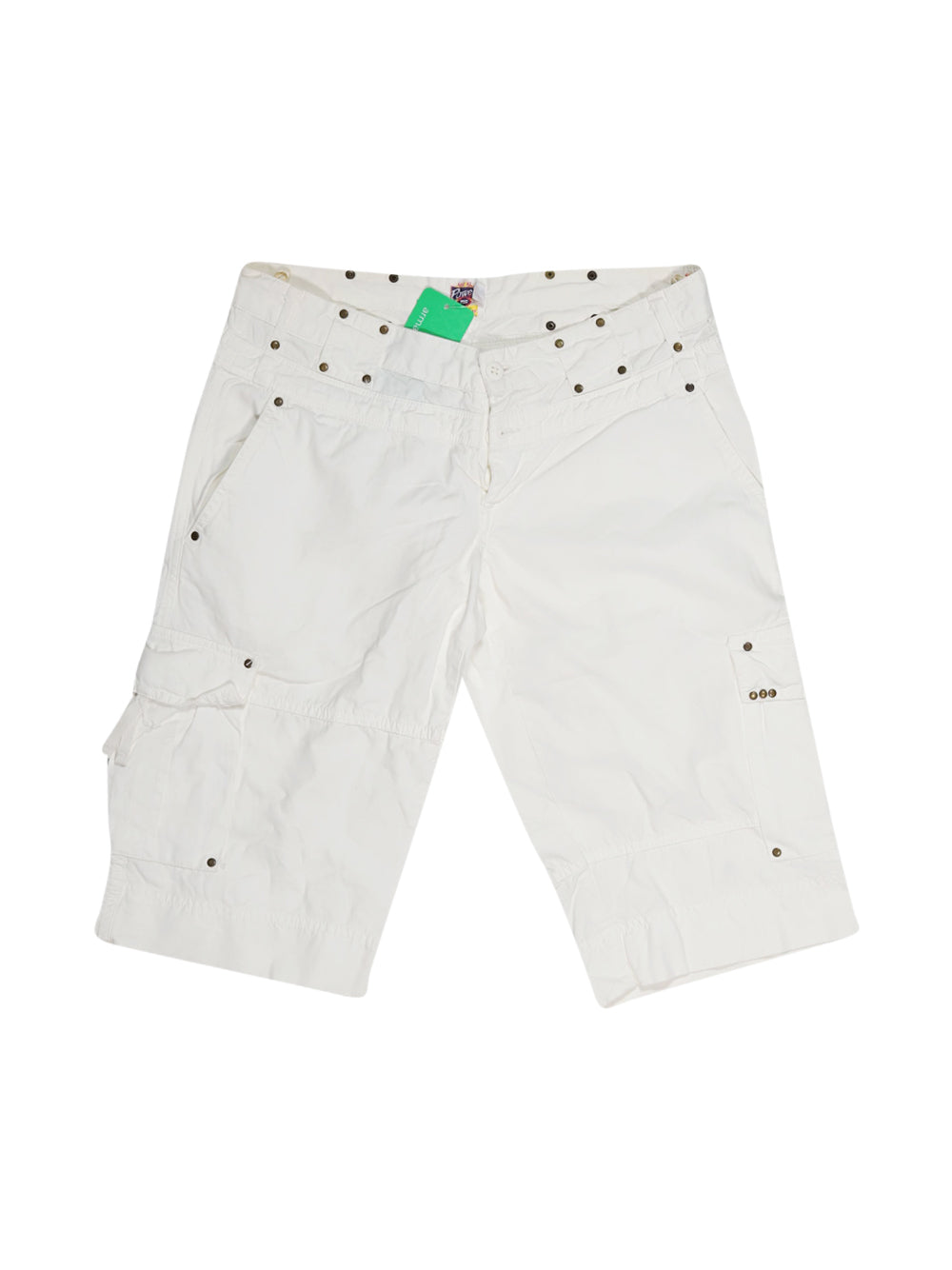 Front photo of Preloved powell White Woman's shorts - size 14/XL