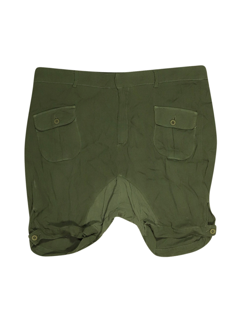 Front photo of Preloved Dondup Green Woman's shorts - size 14/XL