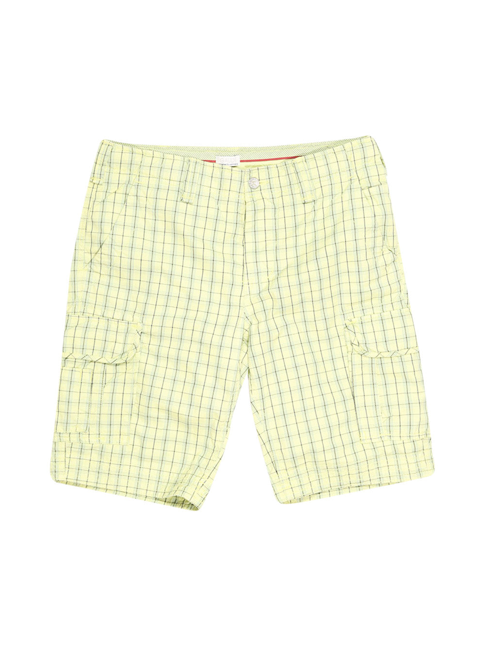 Front photo of Preloved Gaudì Yellow Man's shorts - size 38/M
