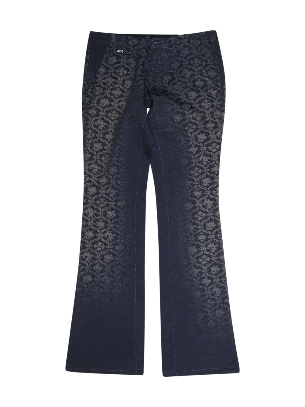 Front photo of Preloved Miss Sixty Blue Woman's trousers - size 6/XS