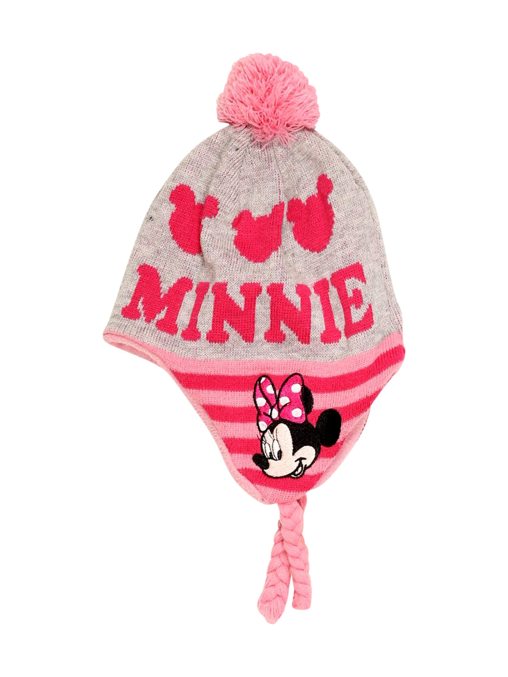 Front photo of Preloved Disney Grey Girl's hat - size 7-8 yrs