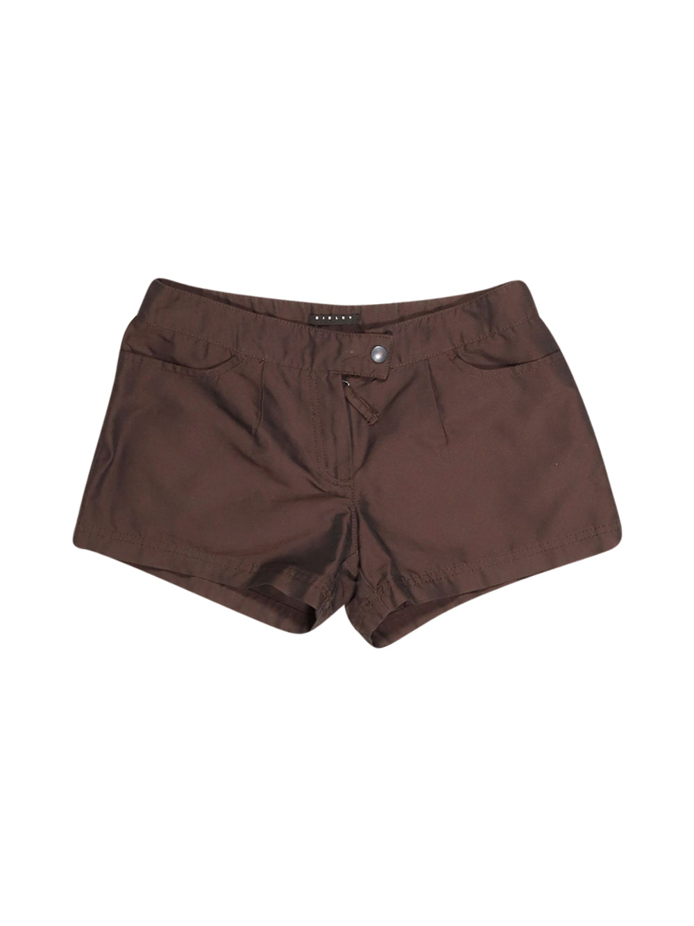 Front photo of Preloved Sisley Brown Woman's shorts - size 6/XS