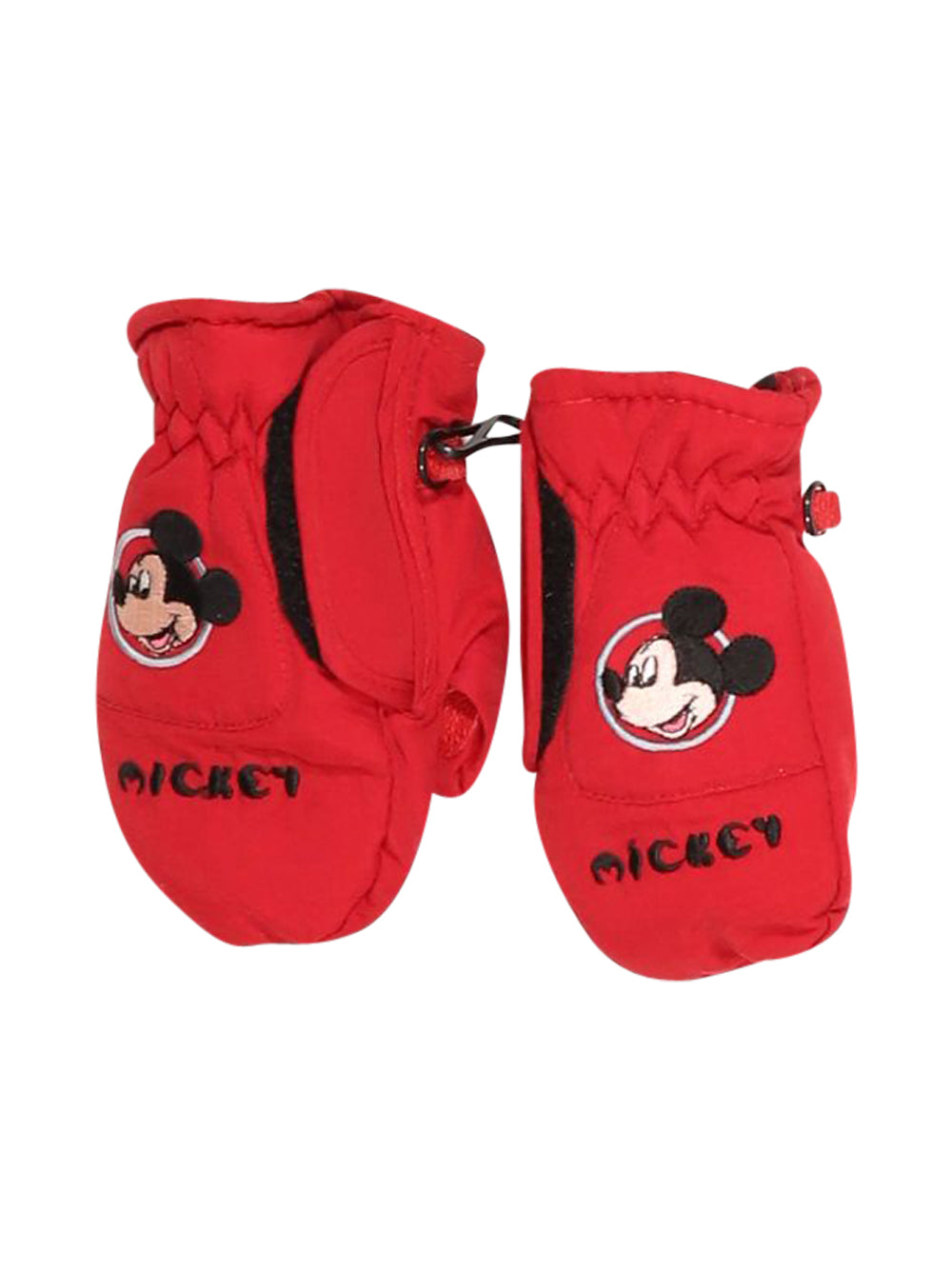 Front photo of Preloved Disney Red Girl's gloves - size 18-24 mths
