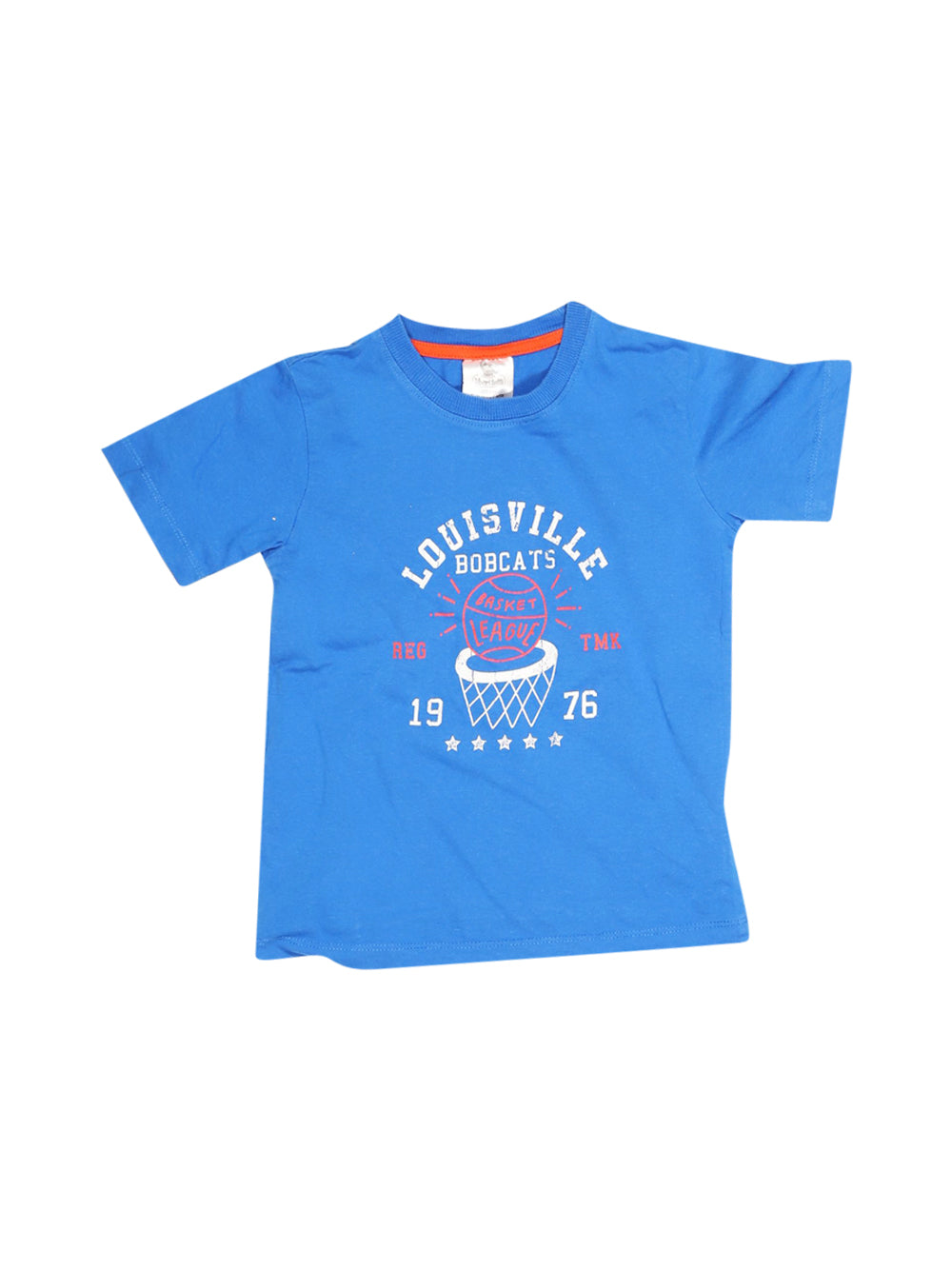 Front photo of Preloved liberi tutti Blue Boy's t-shirt - size 5-6 yrs