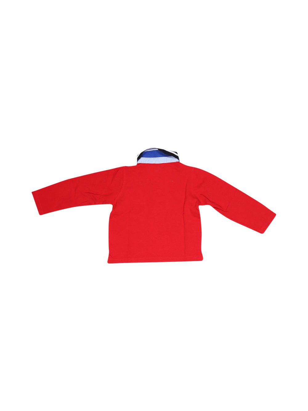 Front photo of Preloved Zara Red Boy's polo - size 12-18 mths