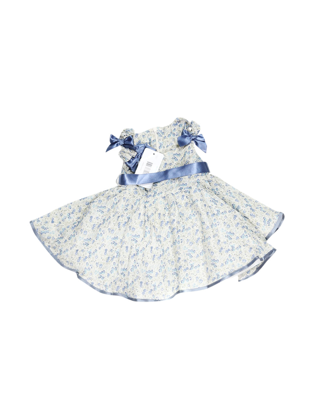 Front photo of Preloved Byblos White Girl's dress - size 3-6 mths