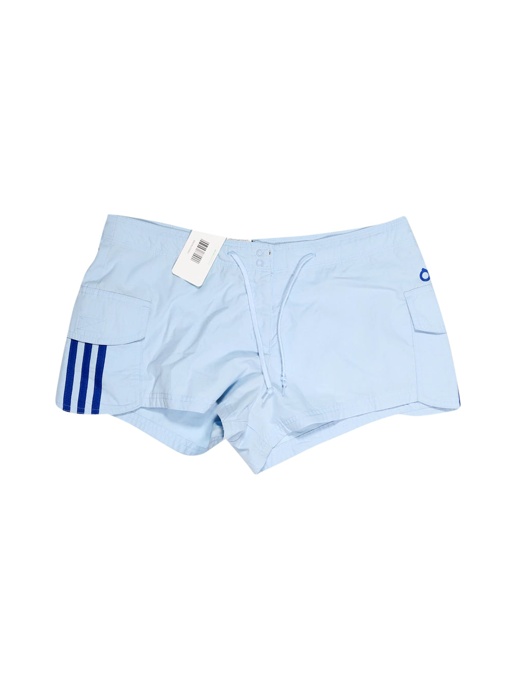 Front photo of Preloved Adidas Light-blue Woman's sport trousers - size 12/L