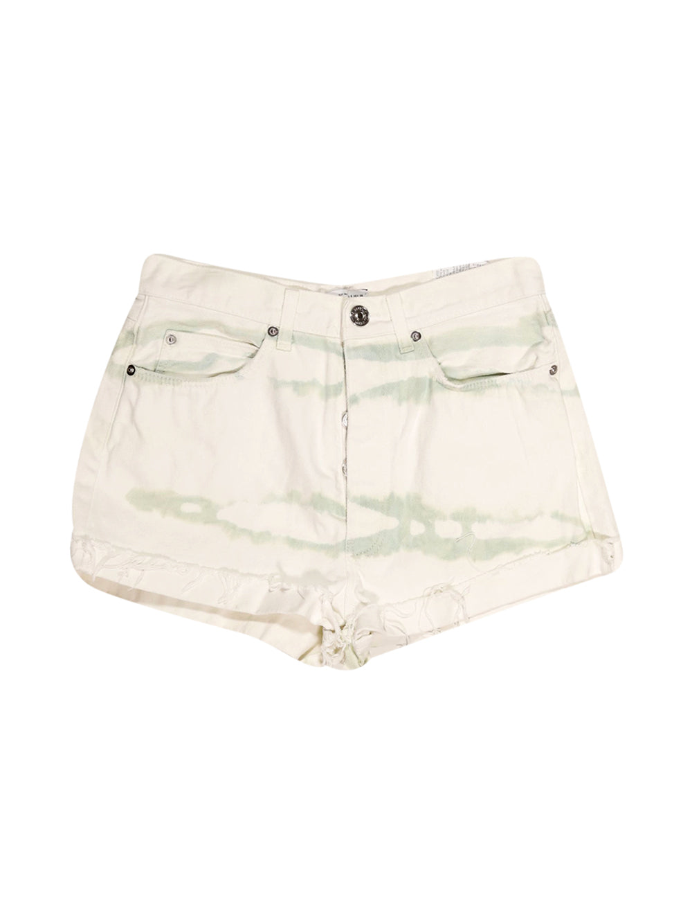Front photo of Preloved Zara White Woman's shorts - size 10/M