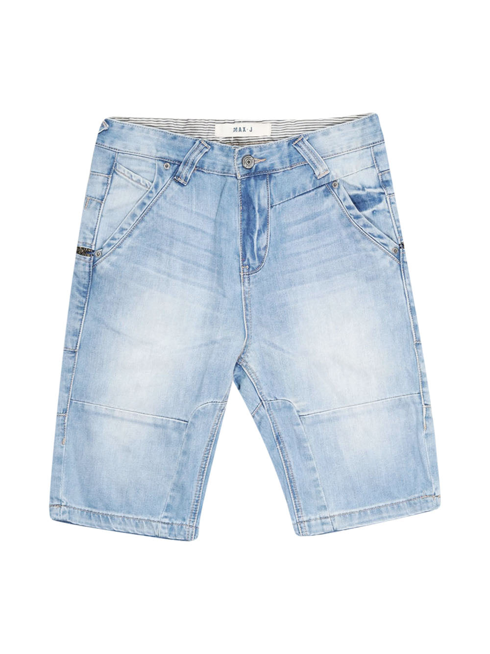 Front photo of Preloved MAX . J Blue Man's shorts - size 34/XS