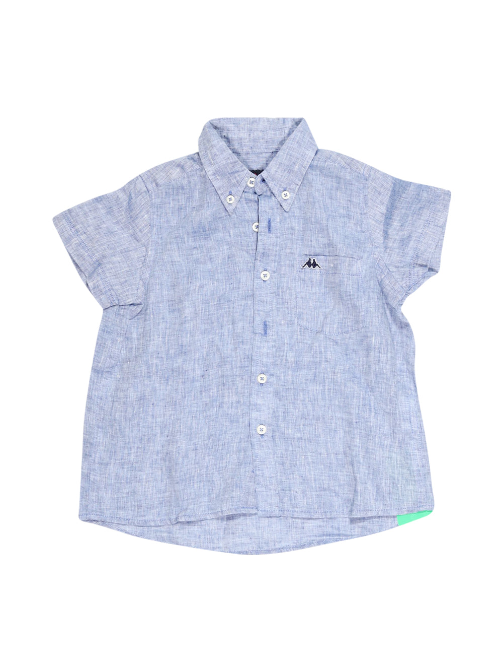 Front photo of Preloved Robe Di Kappa Blue Boy's shirt - size 3-4 yrs