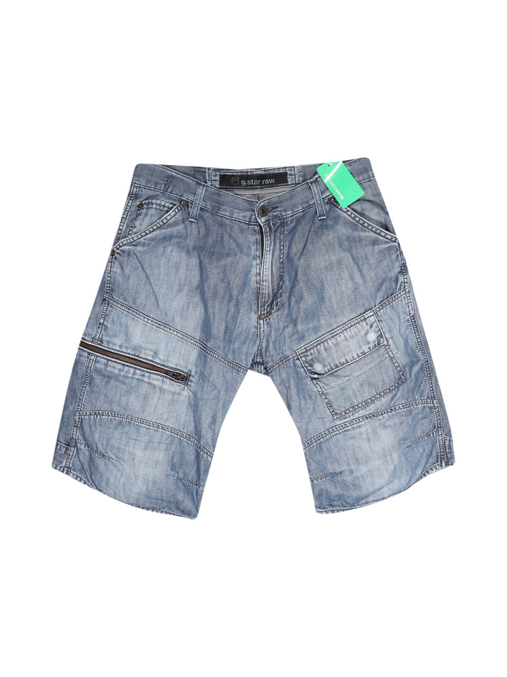 Front photo of Preloved G.STAR RAW Blue Man's shorts - size 40/L