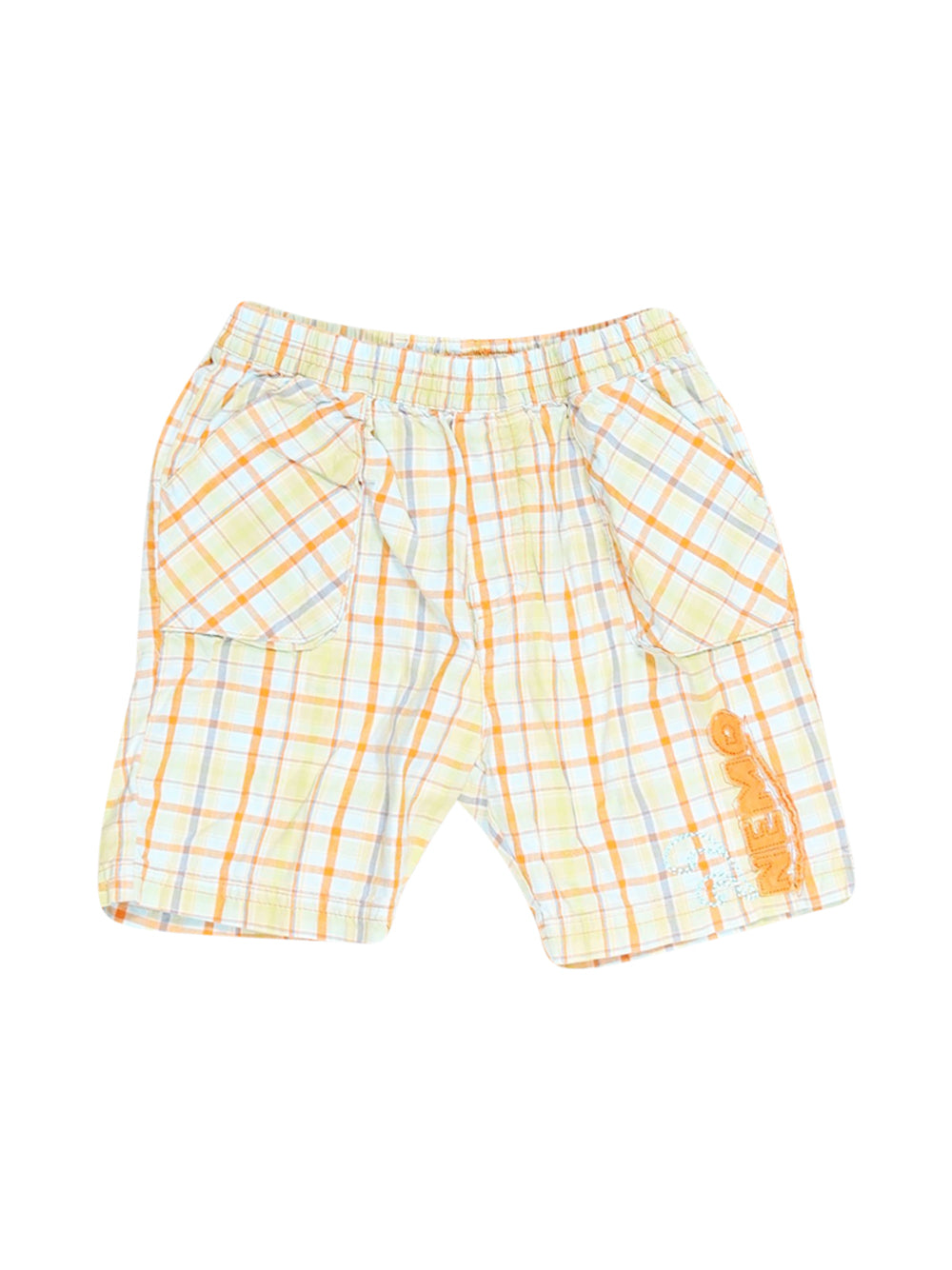Front photo of Preloved Disney Green Boy's shorts - size 2-3 yrs