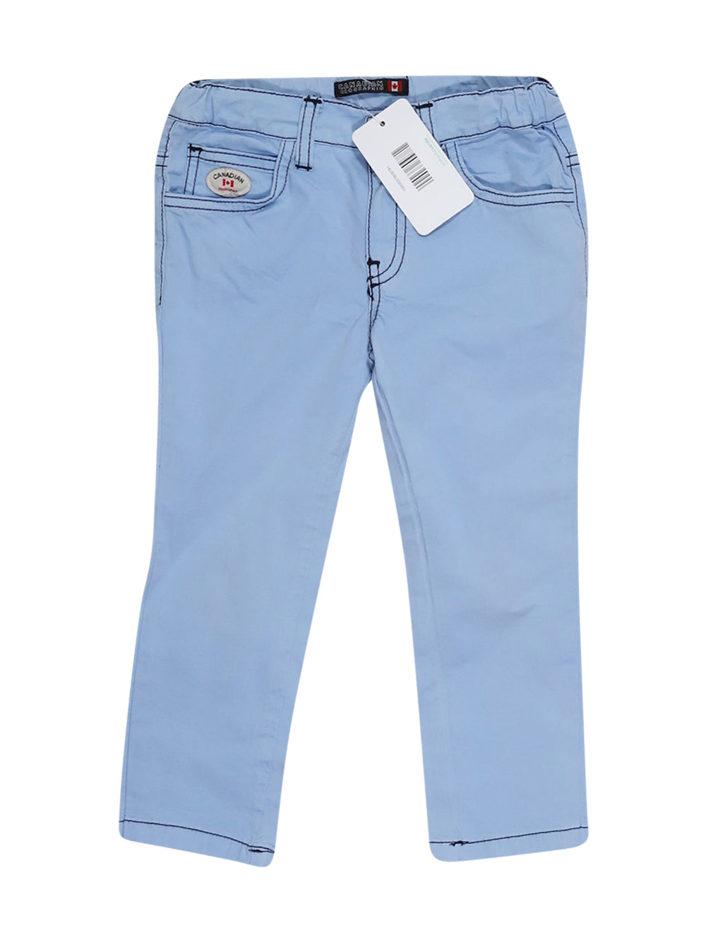 Front photo of Preloved Canadian Light-blue Boy's trousers - size 18-24 mths