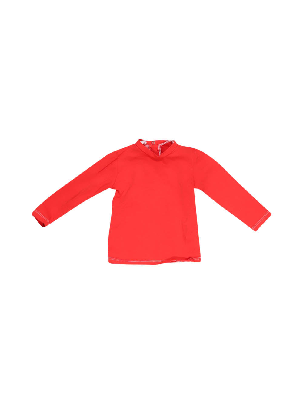 Front photo of Preloved Nazareno Gabrielli Red Girl's long sleeved shirt - size 2-3 yrs