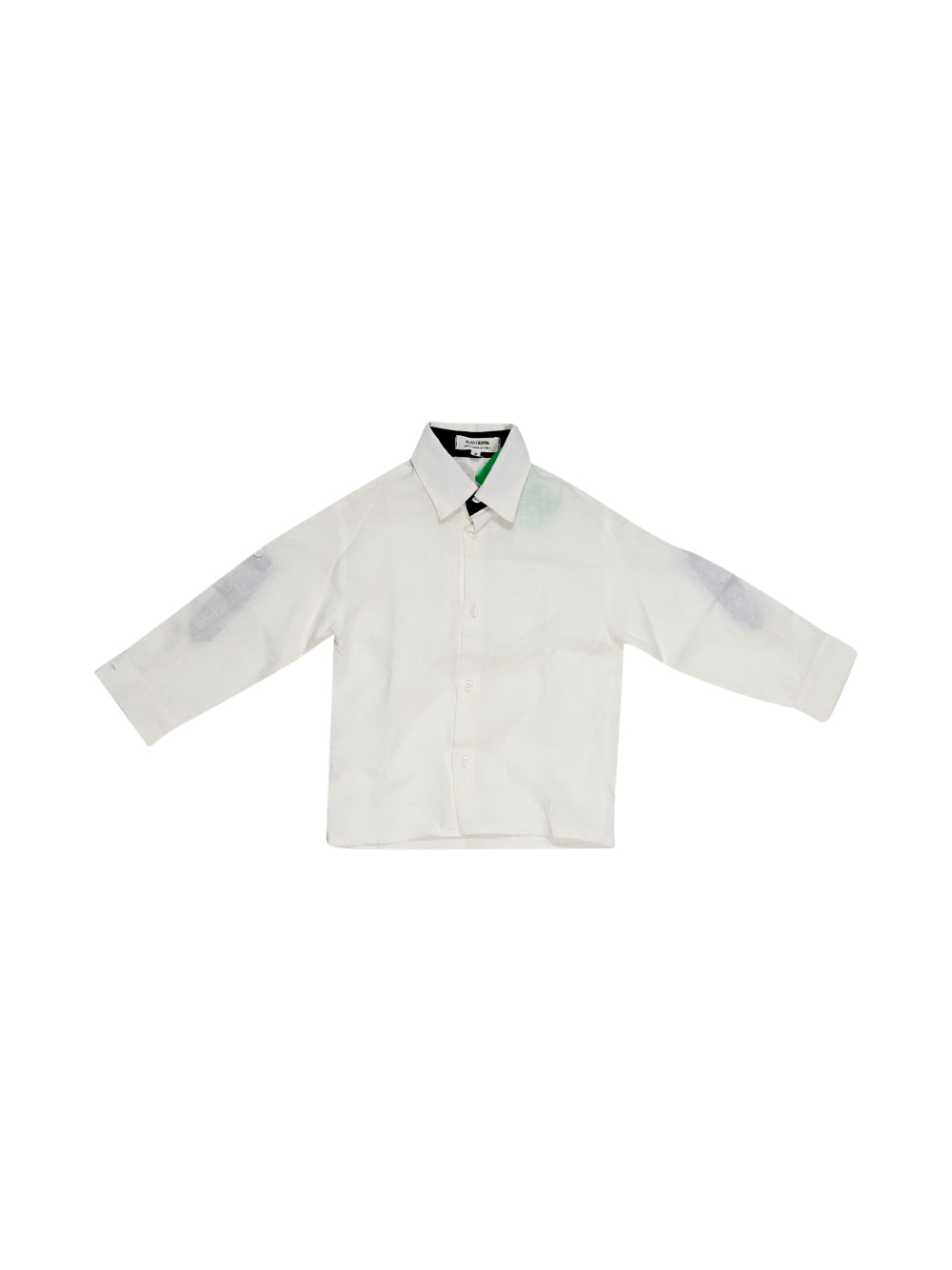 Front photo of Preloved Paio Crippa White Boy's shirt - size 18-24 mths