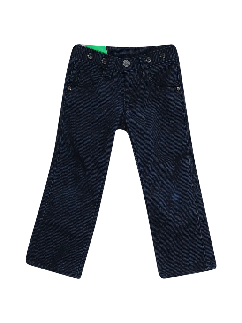 Front photo of Preloved Mash Blue Boy's trousers - size 2-3 yrs