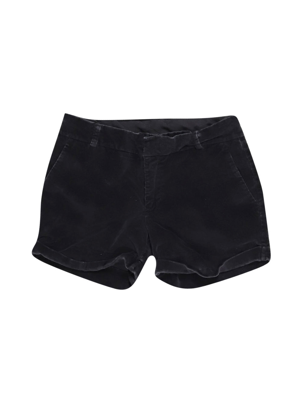 Front photo of Preloved Dixie Black Woman's shorts - size 10/M