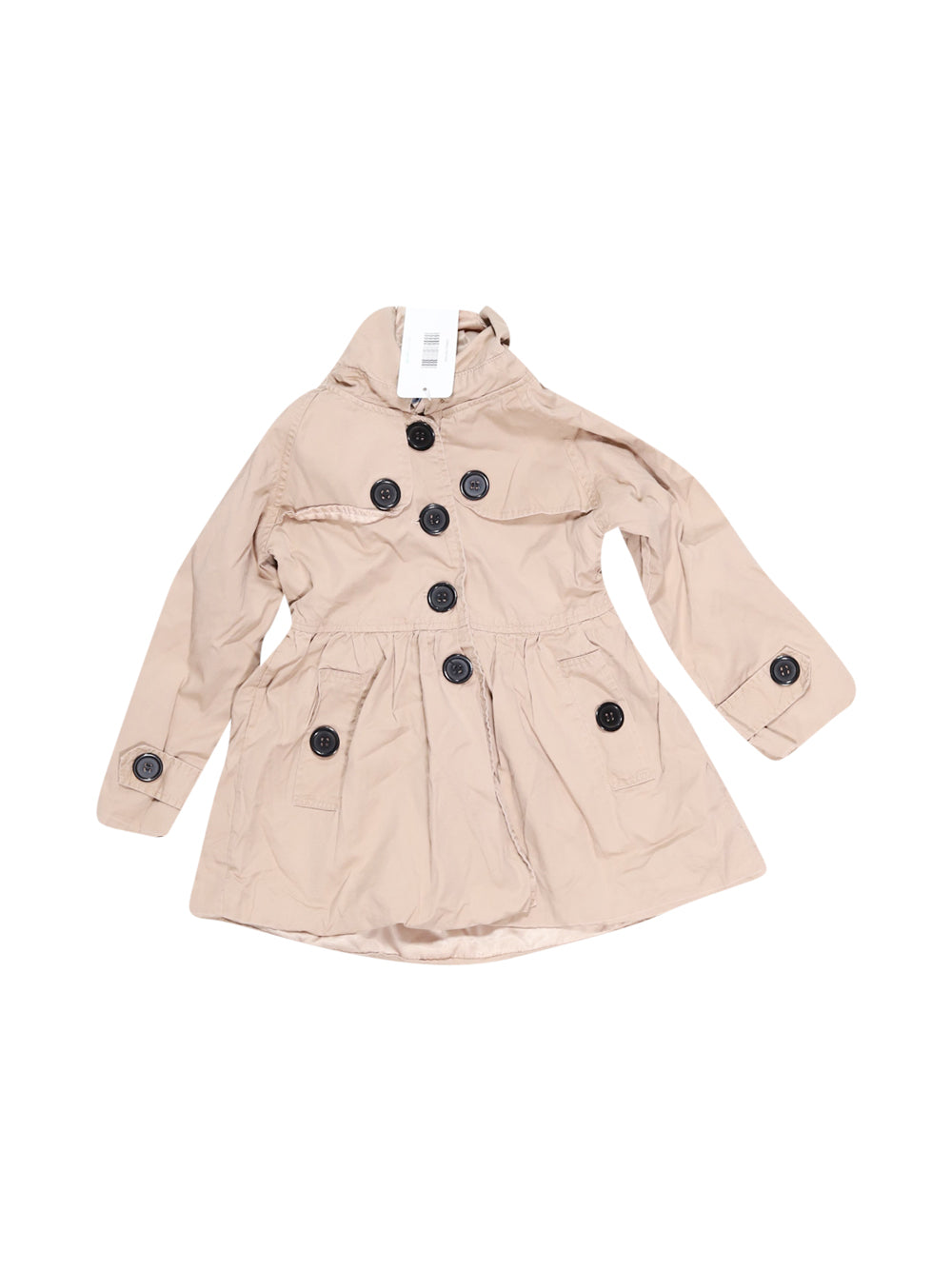 Front photo of Preloved arshiner Beige Girl's jacket - size 6-7 yrs