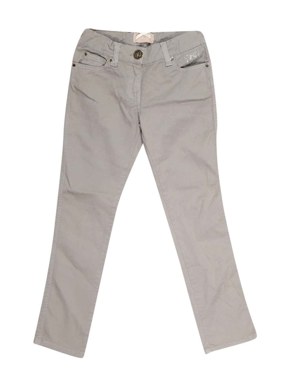 Front photo of Preloved Minifix Grey Girl's trousers - size 7-8 yrs