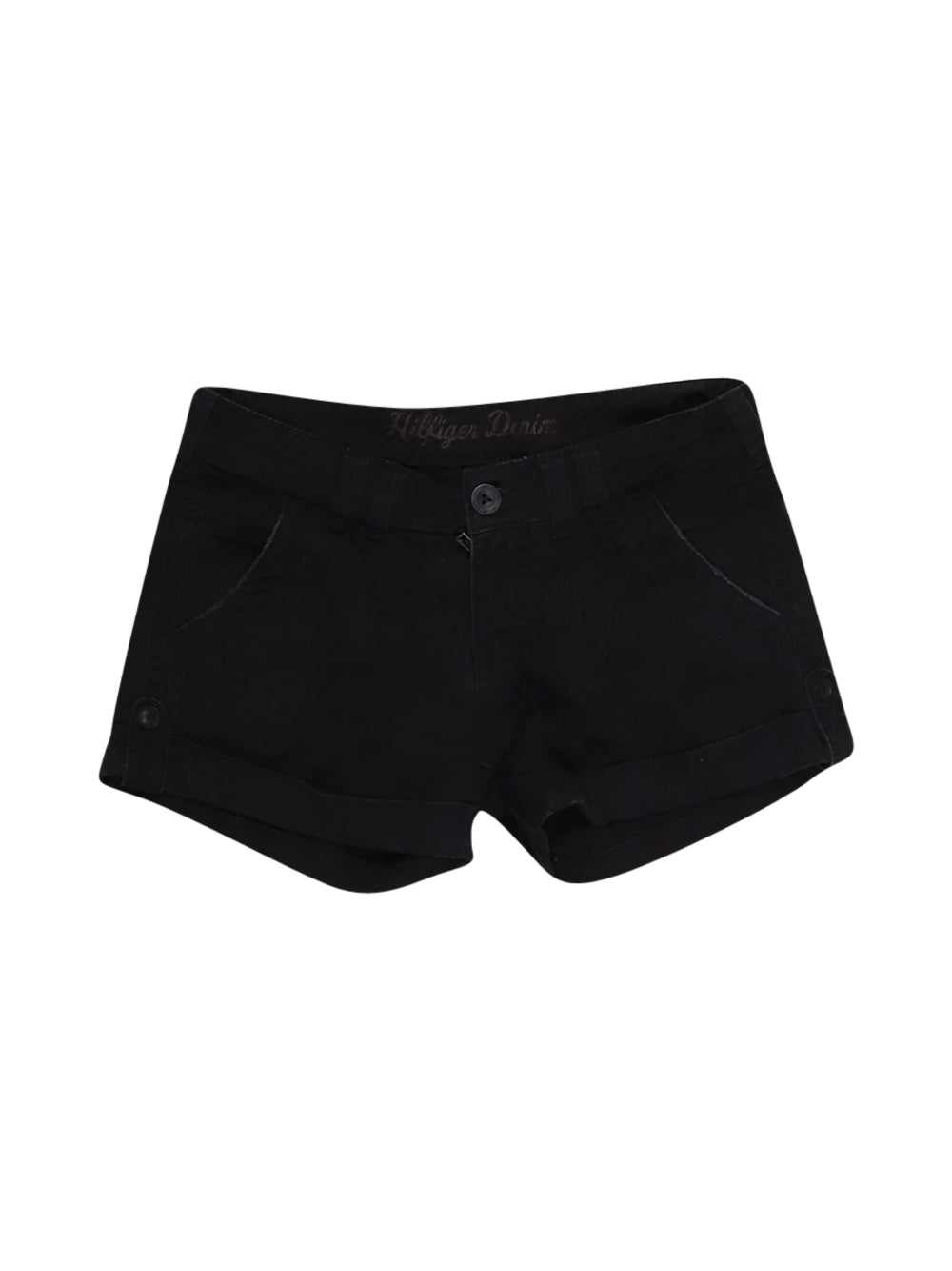 Front photo of Preloved Tommy Hilfiger Black Woman's shorts - size 12/L