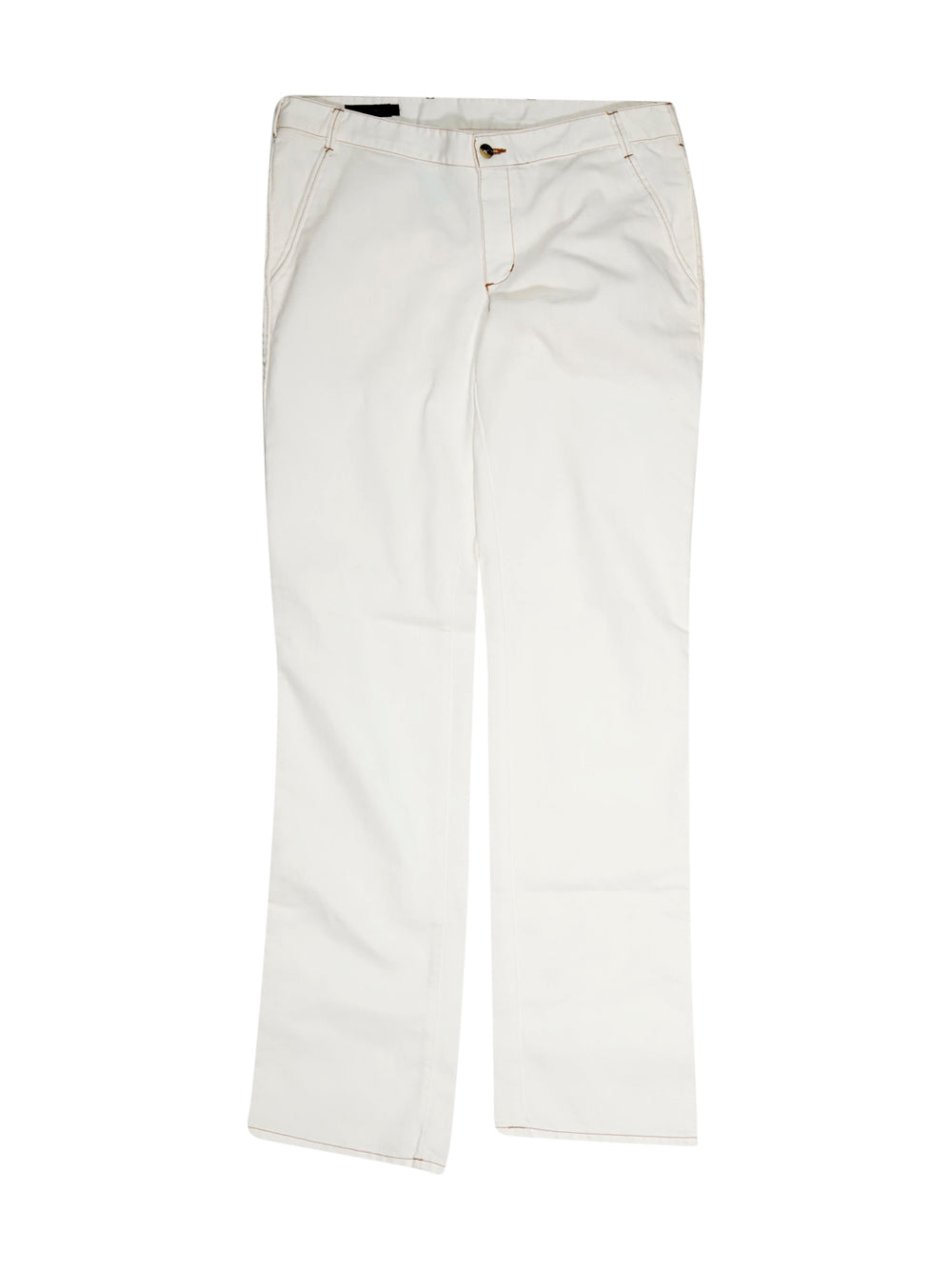 Front photo of Preloved Calvin Klein White Man's trousers - size 40/L