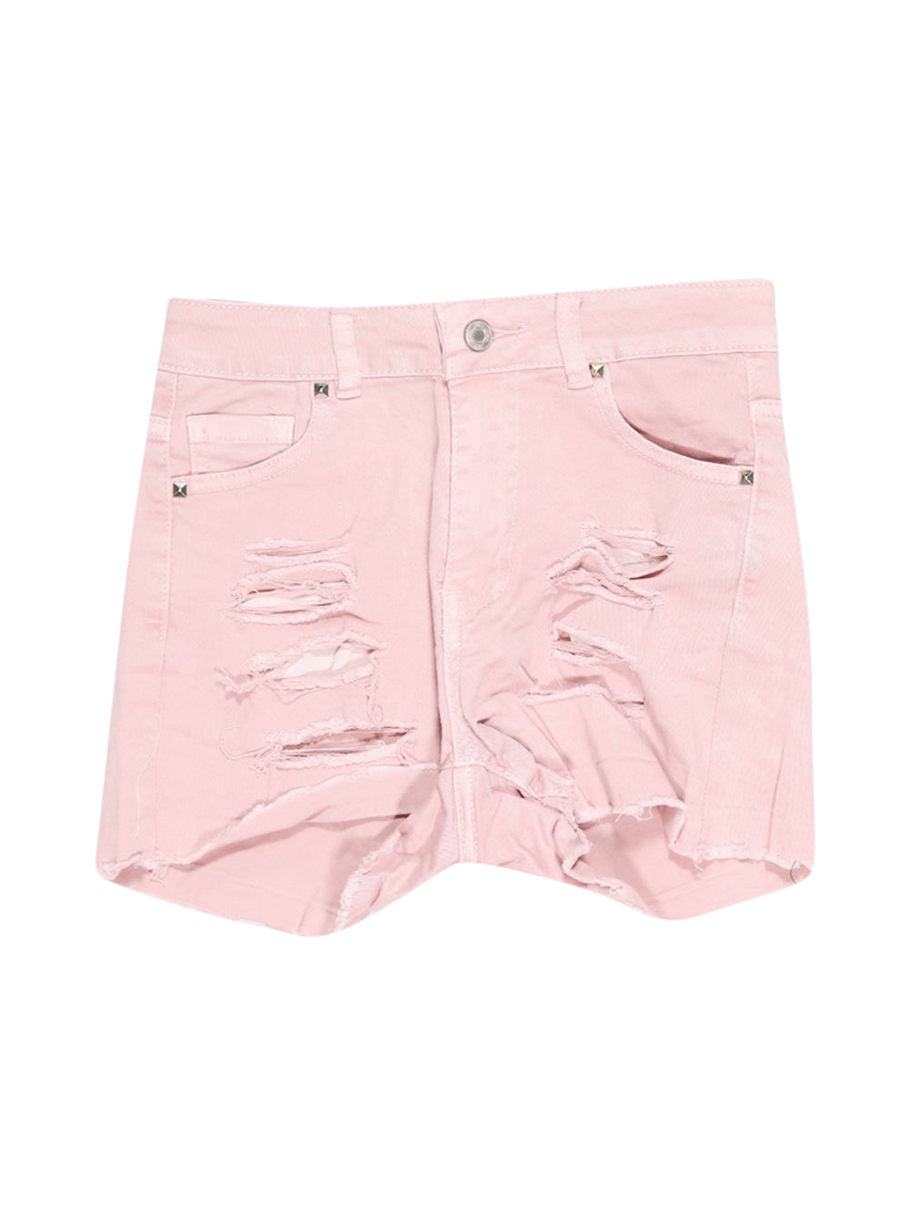 Front photo of Preloved see see Pink Woman's shorts - size 8/S