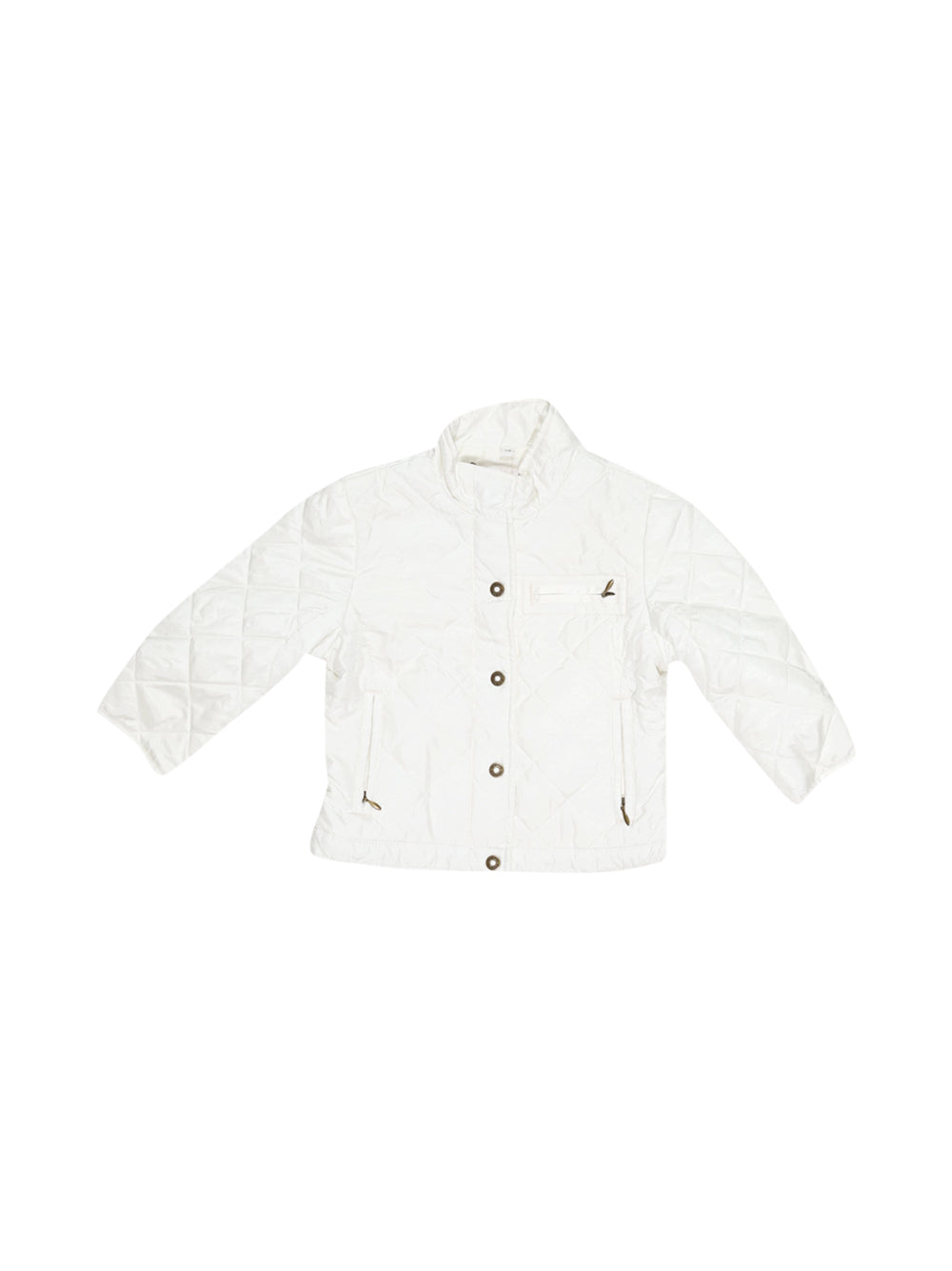 Front photo of Preloved Sarabanda White Girl's jacket - size 18-24 mths
