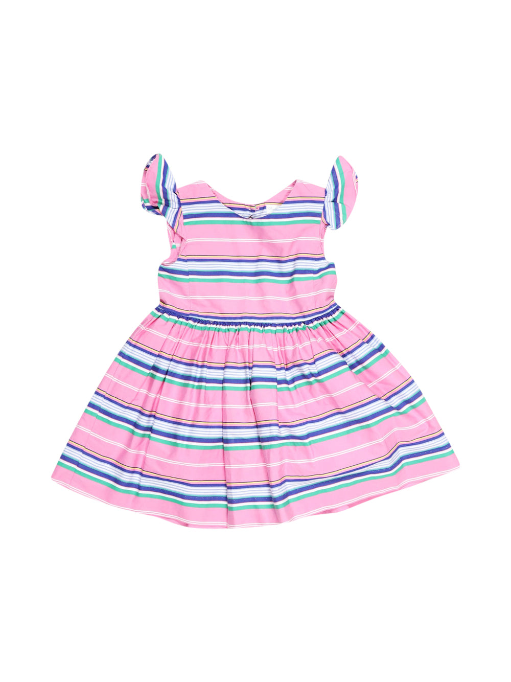 Front photo of Preloved Polo Ralph Lauren Pink Girl's dress - size 12-18 mths