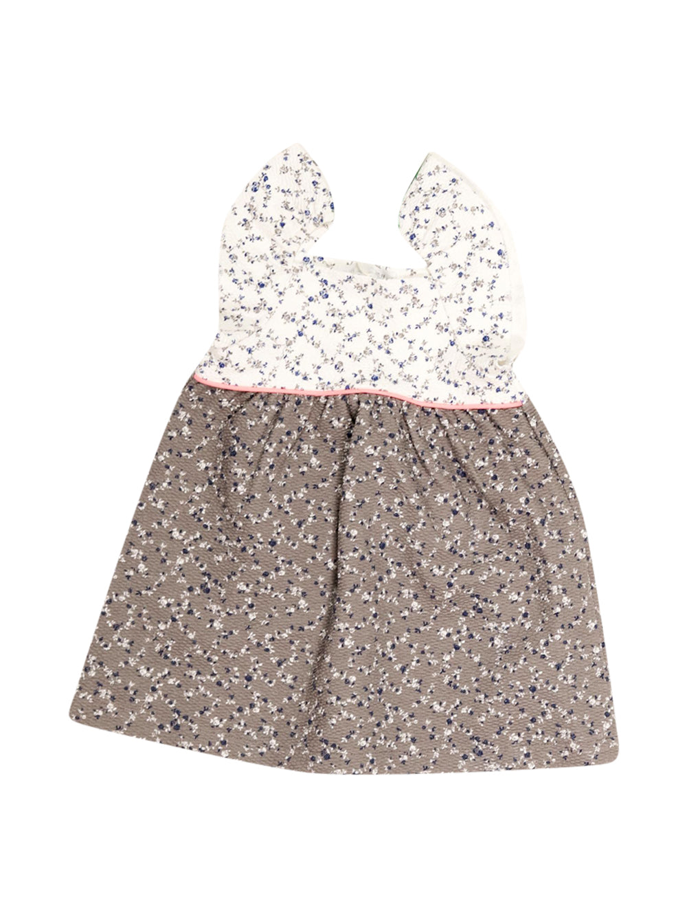 Front photo of Unworn Zara Beige Girl's dress - size 12-18 mths