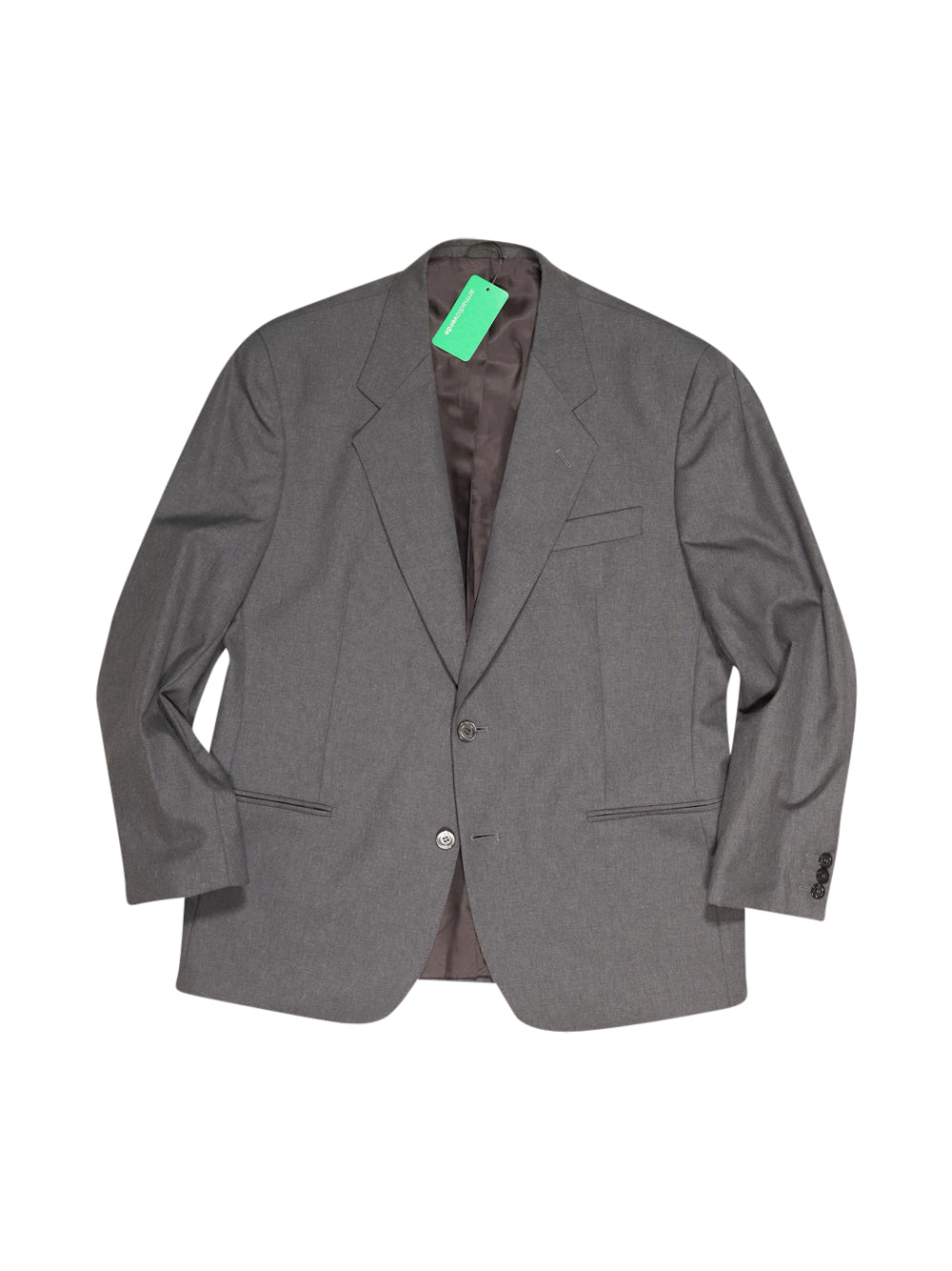 Front photo of Preloved Gaetano Marzotto e Figli Grey Man's suit - size 42/XL