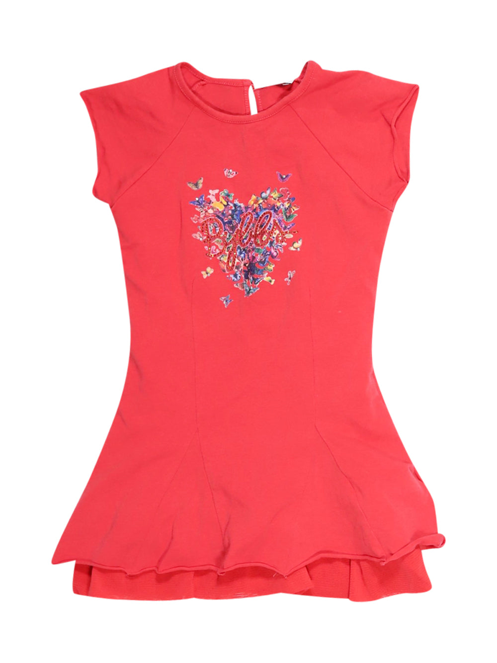 Front photo of Preloved Byblos Red Girl's dress - size 18-24 mths