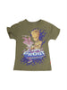Front photo of Preloved Marvel Green Boy's t-shirt - size 3-4 yrs