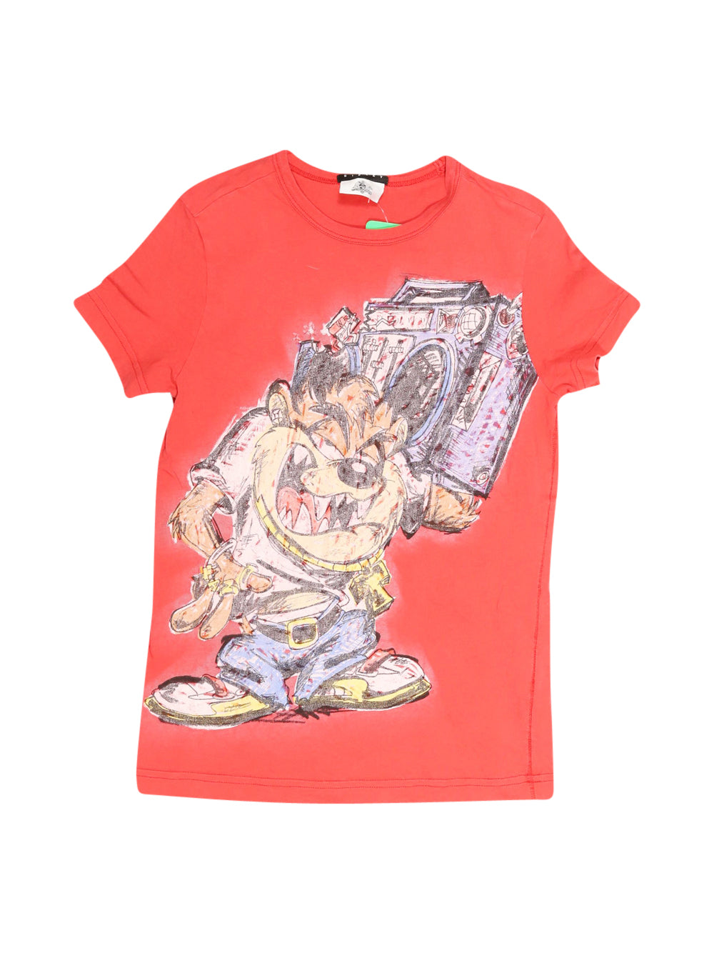 Front photo of Preloved Sisley Red Boy's t-shirt - size 10-12 yrs