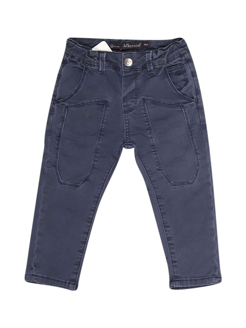 Front photo of Preloved Jeckerson Blue Boy's trousers - size 12-18 mths