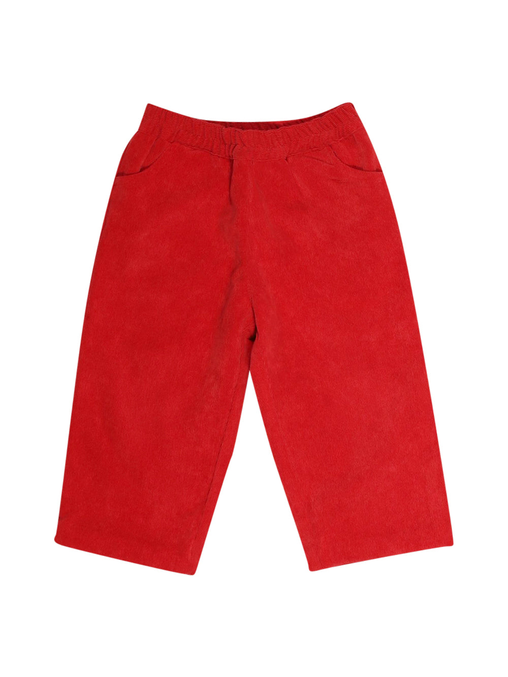 Front photo of Preloved Neck & Neck Red Boy's trousers - size 12-18 mths