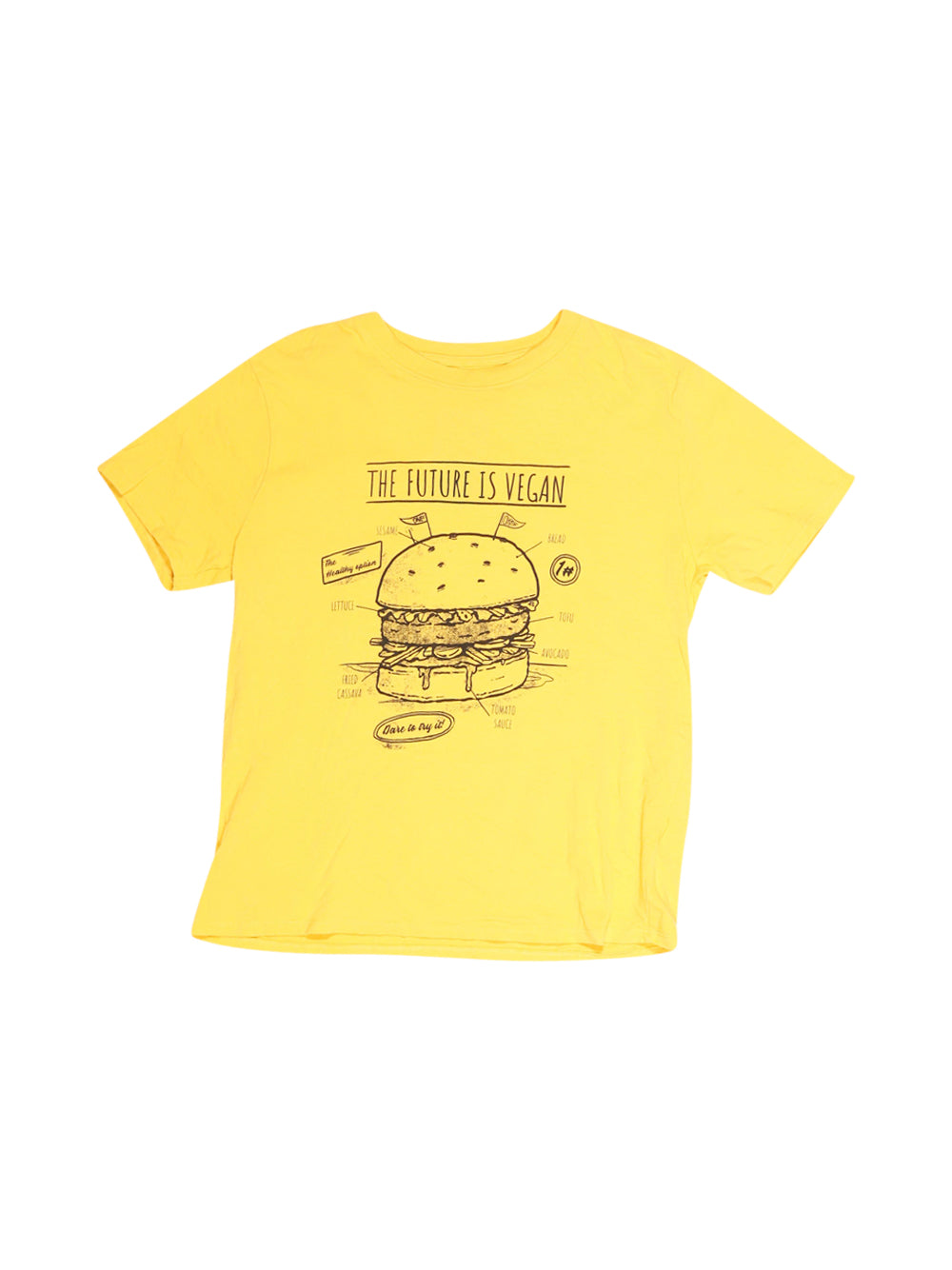 Front photo of Preloved Zara Yellow Boy's t-shirt - size 9-10 yrs