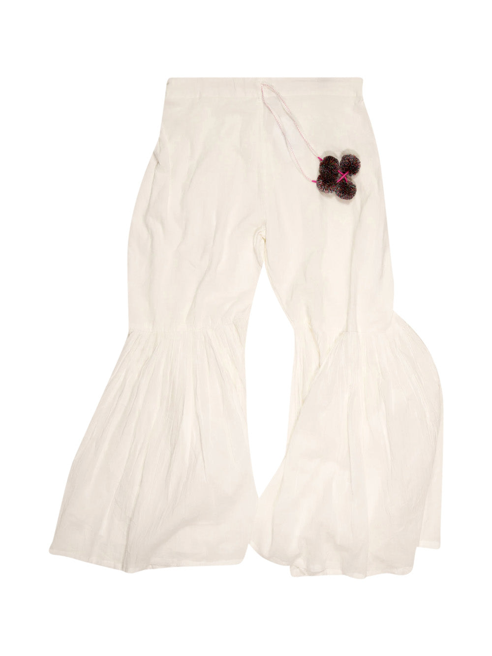 Front photo of Preloved v.de.vinster White Woman's sport trousers - size 8/S