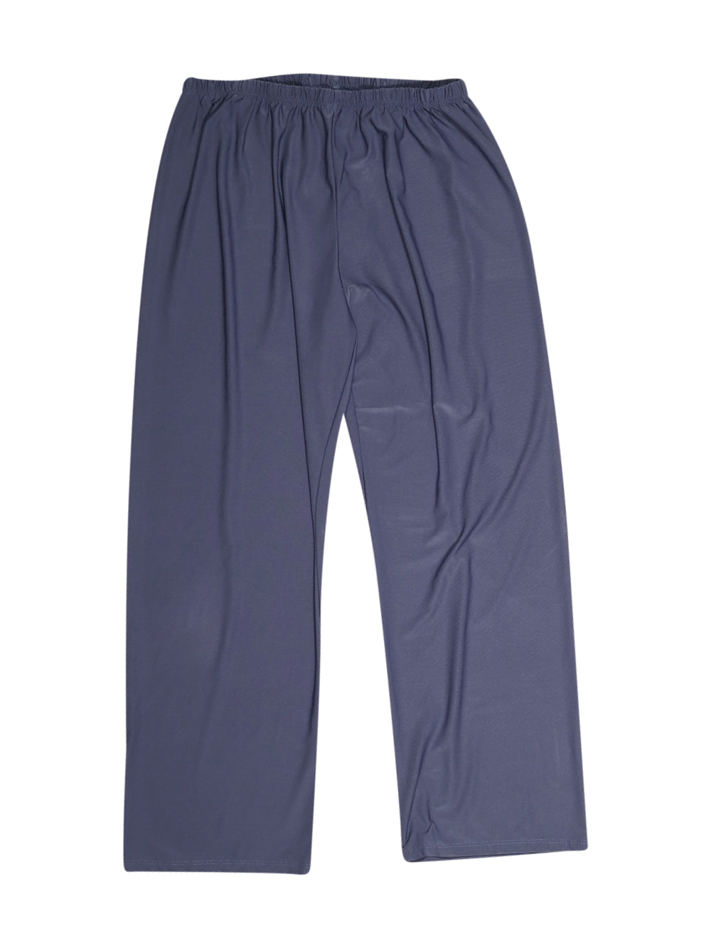 Front photo of Preloved D&L Blue Woman's trousers - size 14/XL