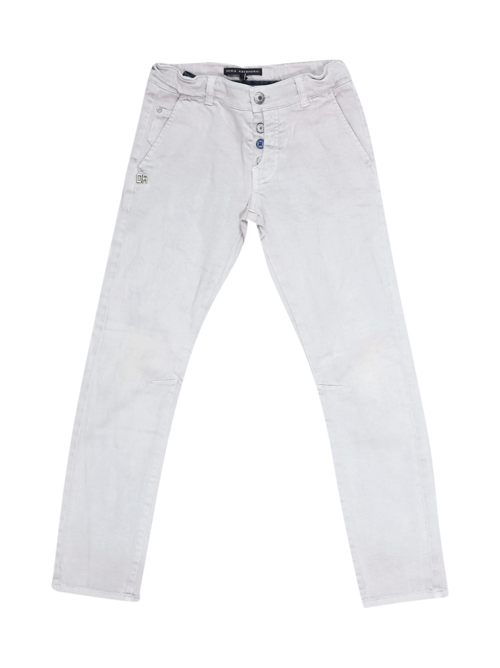 Front photo of Preloved Daniele Alessandrini Grey Boy's trousers - size 7-8 yrs