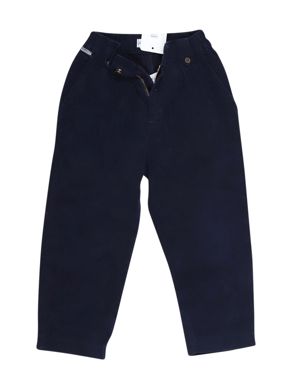 Front photo of Preloved Alphabet Blue Boy's trousers - size 3-4 yrs