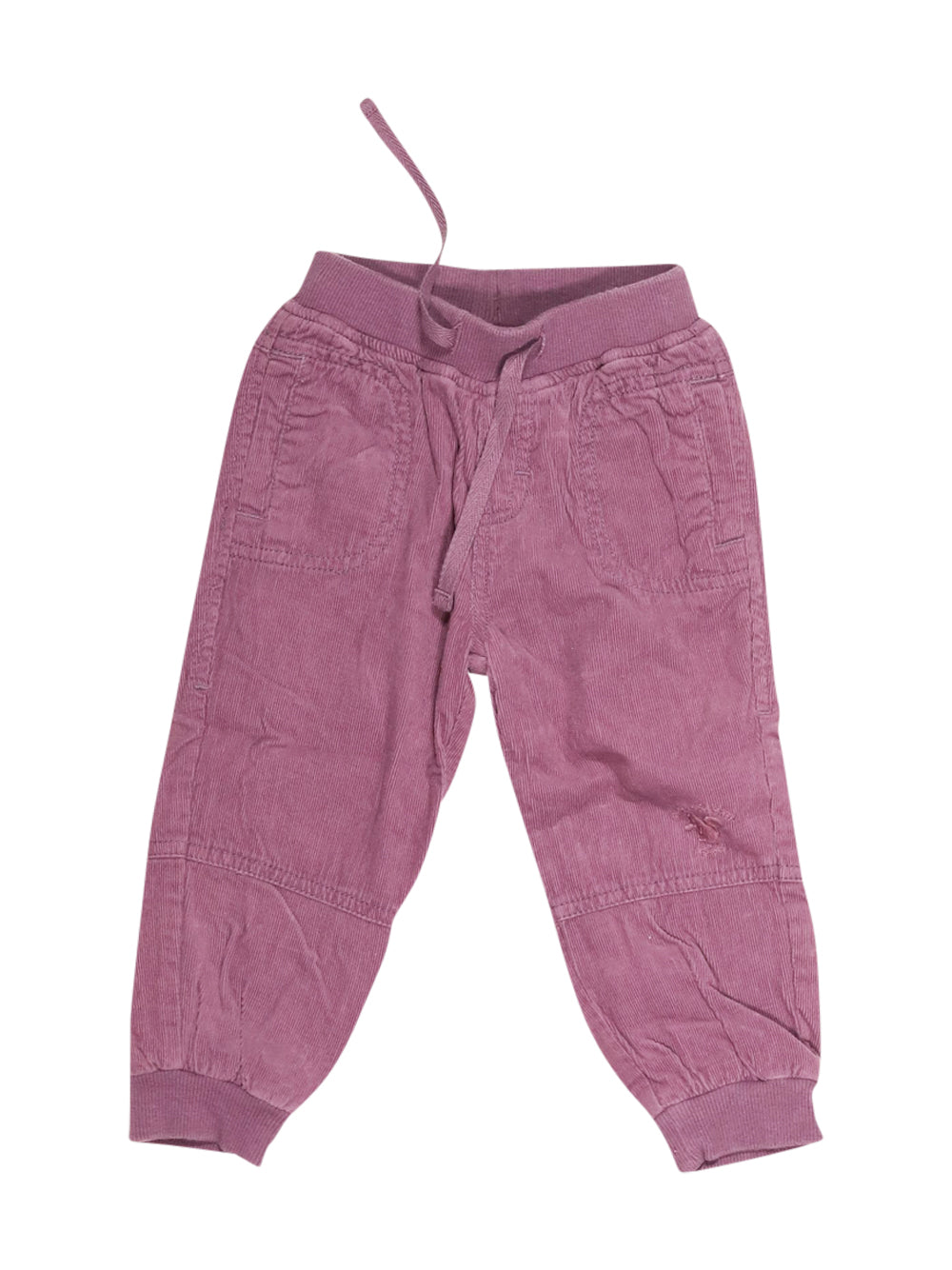 Front photo of Preloved Chicco Violet Girl's trousers - size 12-18 mths