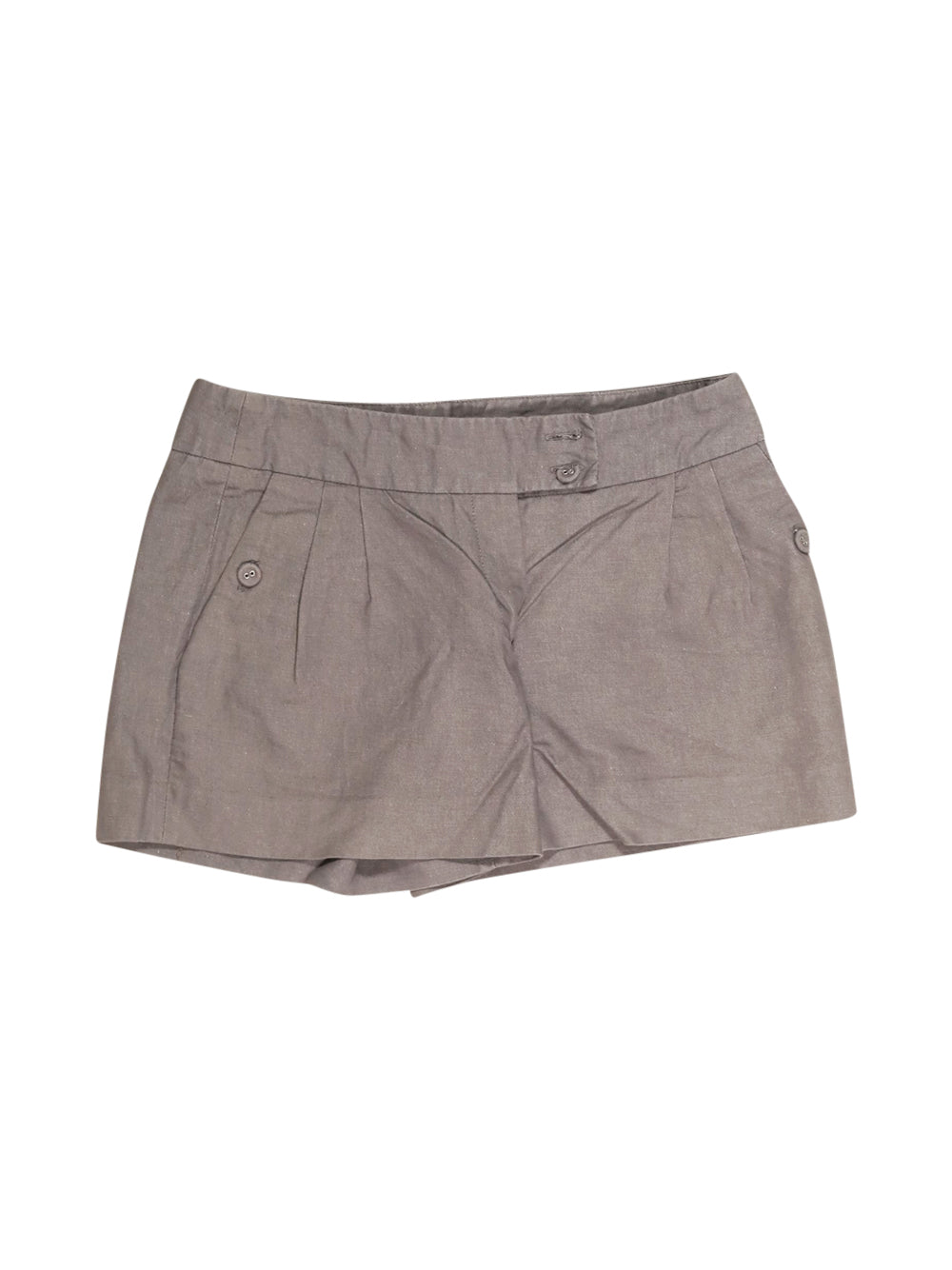 Front photo of Preloved Naf Naf Grey Woman's shorts - size 8/S