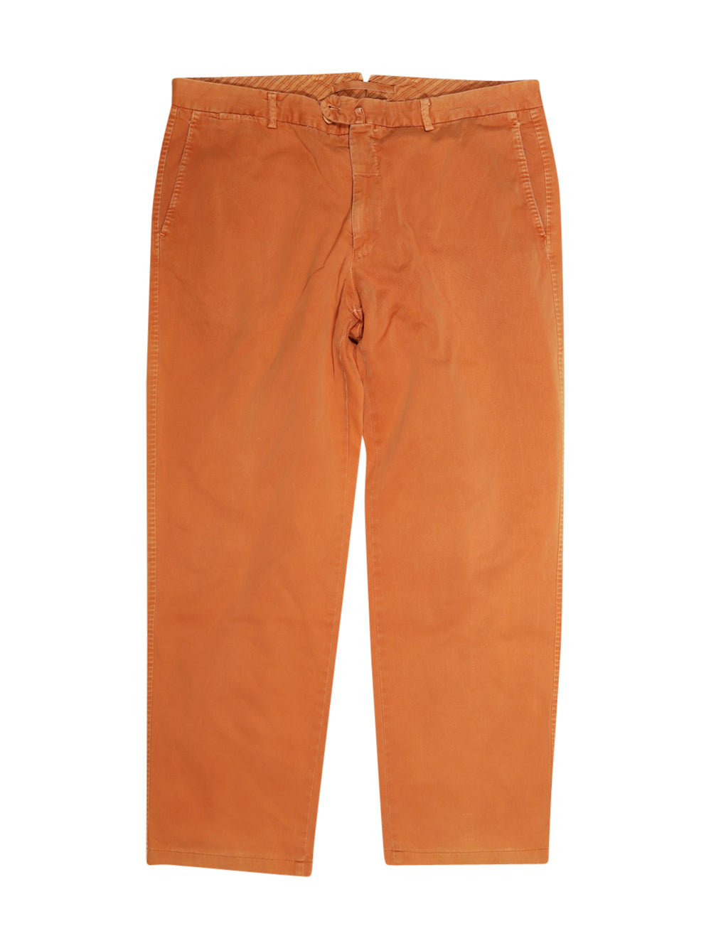 Front photo of Preloved Ugo fabiani Orange Man's trousers - size 46/XXXL