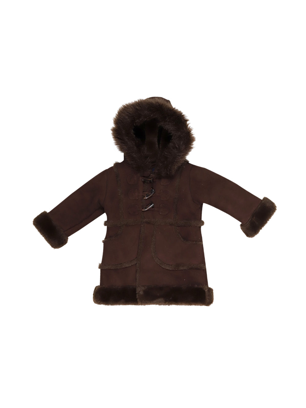 Front photo of Preloved Gap Brown Girl's jacket - size 18-24 mths