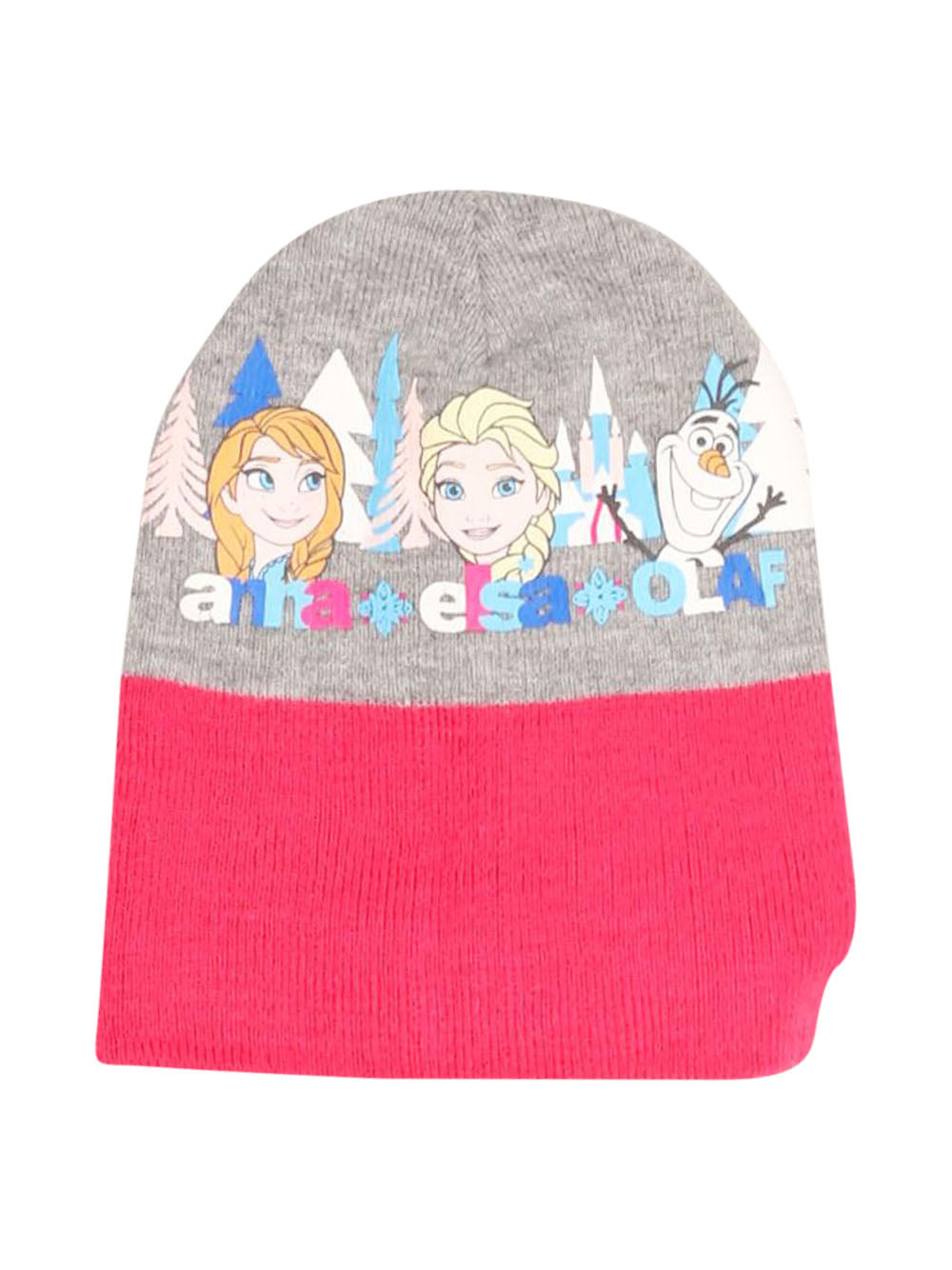 Front photo of Preloved Disney Pink Girl's hat - size 8-9 yrs