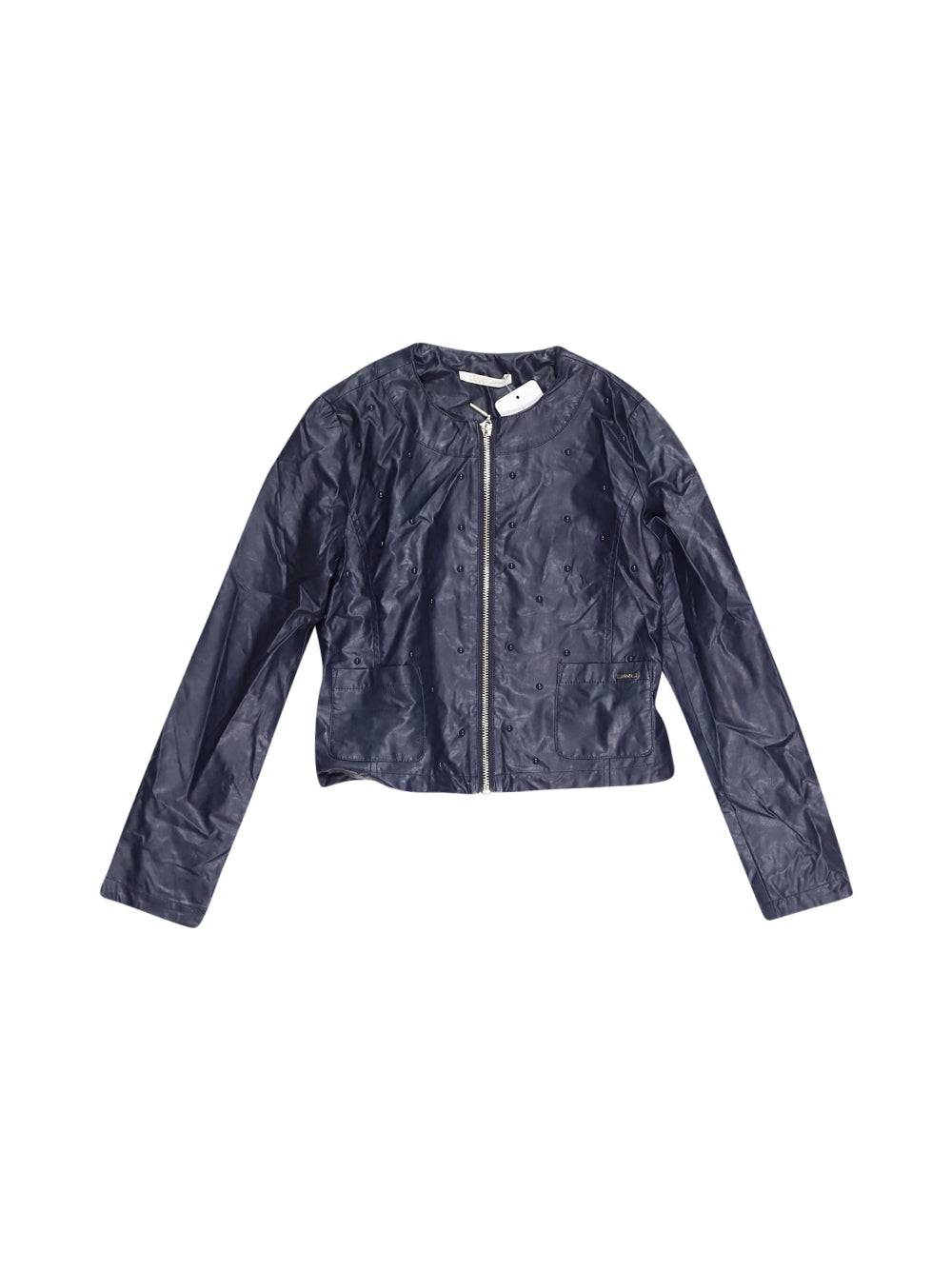 Front photo of Preloved Liu Jo Blue Girl's jacket - size 9-10 yrs