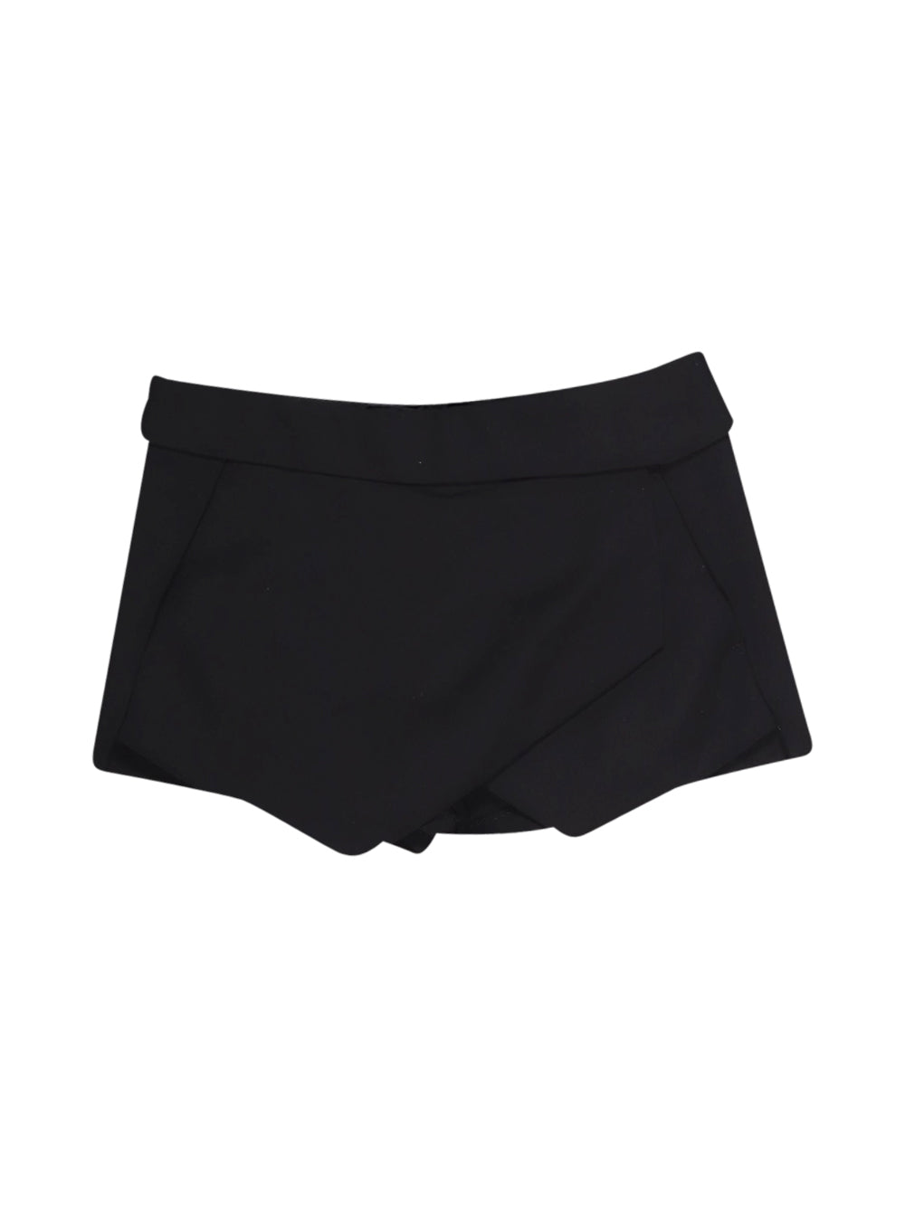 Front photo of Preloved Zara Black Woman's shorts - size 8/S